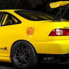Japan Rising Sun Flag Fuel Tank Decal sticker JDM honda dapper illest #Oracal