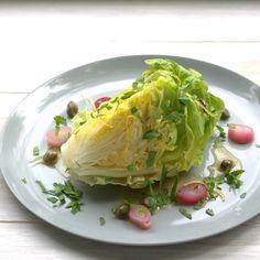 bushcooks kitchen: Kopfsalat von Tim Raue - Deutscher Wein und deutsche Küche Cabbage, Canning, Vegetables, Recipes, Food, Party, Lettuce, Leafy Salad, German Cuisine