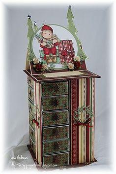 Scor-pal advent calendar, Lisa Andrews