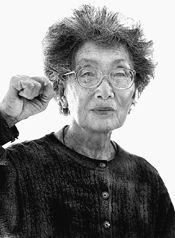 Yuri Kochiyama became an activist as a result of her experience of Japanese internment in her 20s[...] She has spoken out vividly about Japanese internment and the will of the nation-state. She and her husband initiated the push for internment reparations, which they won. She was also there the day Malcom X was assassinated, cradling his head in her arms as he passed away. She is a civil rights activist, social justice worker, and inspiration to countless activists and thinkers for…