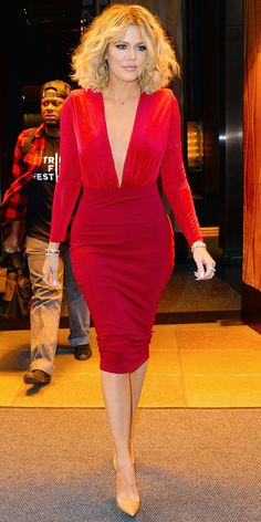 Birthday Girl Khloé Kardashian Looks Better than Ever at Age 32! See Her Fittest Photos to Date - In New York City, 2016 from InStyle.com