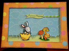 Carte, joyeuse Pâques