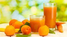 Come fare un succo di albicocche e carota