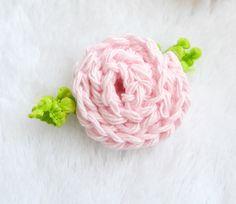 Beginner Crochet Rose