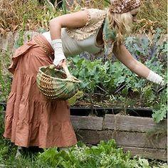 ...organic gardening