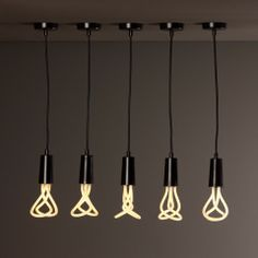 The PLUMEN 001 is the world's first designer low energy light bulb. The dynamic, sculptured form contrasts to the dull regular shapes of existing low energy bulbs, in an attempt to make the Plumen a centrepiece, not afterthought.