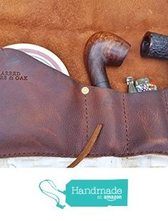 Medium Leather Pipe & Tobacco Pouch from Charred Embers & Oak https://www.amazon.com/dp/B01M4O7XB2/ref=hnd_sw_r_pi_dp_..hBybJQW7G13 #handmadeatamazon