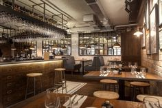 Canto Corvino Restaurant & Bar by B3 Designers, London – UK » Retail Design Blog