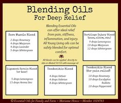 Deep Pain Relief Recipes