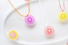 Kid Craft: Spirograph Necklaces