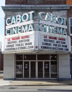 The Auction at the Cabot Street Cinema Theatre | Flickr
