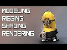 "▶ CGI Modeling Tutorial HD: ""Modeling Minion: Part - 1"" by - Edge3D - YouTube"