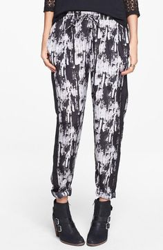 These are fun! Tuxedo Stripe Print Pants