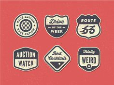 Content Badges by Curt Rice for Roadtrippers