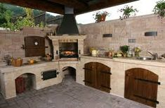 If you are looking for Outdoor Kitchen Roof, You come to the right place. Here are the Outdoor Kitchen Roof. This post about Outdoor Kitchen Roof was posted under the. Backyard Kitchen, Summer Kitchen, Outdoor Kitchen Design, Patio Design, Backyard Patio, Backyard Landscaping, Pizza Oven Outdoor, Outdoor Cooking, Outdoor Rooms
