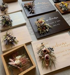 Paper Flowers Craft, Diy Flowers, Flower Decorations, Flower Boxes, Flower Frame, Flower Cards, Dried Flower Bouquet, How To Preserve Flowers, Diy Crafts To Sell