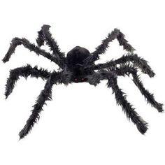 Araignée Géante avec Yeux Lumineux Halloween (102cm)