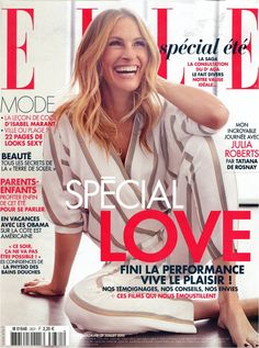 Spotted Julia Roberts in our jumpsuit PANDOR for Elle FR - July 2015