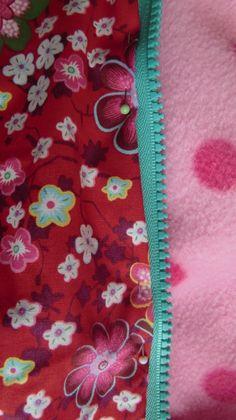 Tutorial 1 Einfache gefütterte Jacke oder Wendejacke mit Reißverschluß und Ärmelbündchen nähen : Klick auf die Bilder macht sie bei Beda...