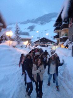 Después de visitar Megeve, hoy nuestros alumnos ya están listos para la primera jornada de esquí
