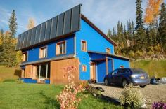 Thorsten Chlupp's Passiv Haus house Fairbanks