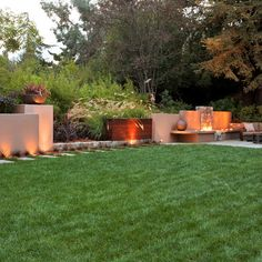Ideas for Fire Pits - Sunset