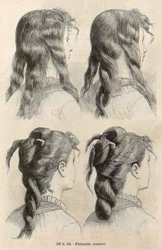 Vintage Meets Modern: A Classic Lifestyle New Look Ideas Civil War Hairstyles, Historical Hairstyles, Edwardian Hairstyles, Vintage Hairstyles, Victorian Women, Victorian Fashion, Victorian Hats, Pelo Vintage, 19th Century Fashion