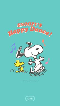 スヌーピー Happy Dance♪