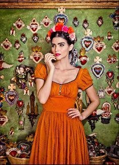 Halloween Style: Frida Kalo Halloween Costume inspiration.