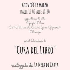 #laboratori #bambini #kids #homemade #libro  La Mela di Carta http://omaventiquaranta.blogspot.it/2014/03/laboratorio-di-cura-del-libro-per.html