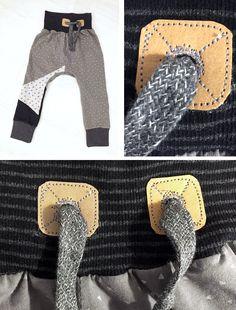 Lybstes: Hoodiebänder und Kordelstopper selbermachen, Anleitung für Kapuzen und Pumphosen