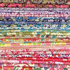 Liberty of London Tana Lawn Fabric - The Ultimate Scrap Pack - 80 Fabrics