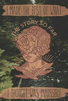 the story so far 'the glass'