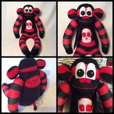 """8 Likes, 1 Comments - Julie Scollick (@juliescollick) on Instagram: """"Monkey rot finished love him #sockmonkeys #sewing #art #handmade #madewithsocks #sunnyteddys #mascot"""""""