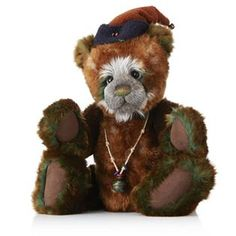 "Charlie Bears Collectable Noel 21"" Plush Bear"