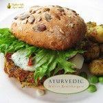 Ayurvedic Walnut Veggie Burgers | Maharishi Ayurveda Blog