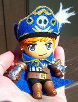 Posable Art Dolls by MaryBunnie on deviantART  -Anime Pirate Doll- Hawkeye from Maplestory- Not for Sale-  #doll #sculpture #artdoll #pirate #boy #ooak