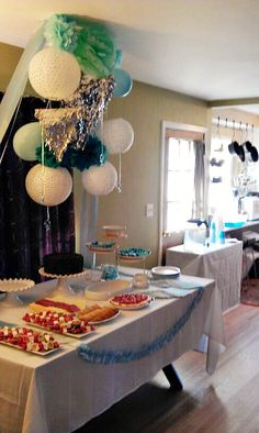 friends baby boy shower that I decorated:)