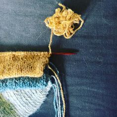 In the new Olympic sport of Nut-Hap Yarn Chicken Team GB just won gold! And the crowd (me) goes wild.