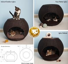 Iglooo cat bed