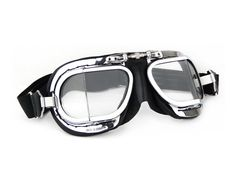 Halcyon Mark 9 Compact Deluxe Motorcycle Goggles / by ClassicParts, £34.95