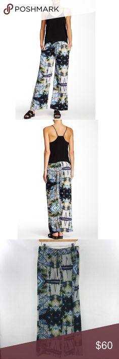W118 by Walter Baker pants Cute and casual pants. Have elastic and drawstring waist, side pockets. Super cute for work or casual wear. W118 by Walter Baker Pants