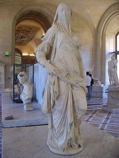 Louvre - Denon - Femme Voilee (Antonio Corradini) | Flickr - Photo Sharing!