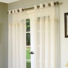 Debutante sheer curtain