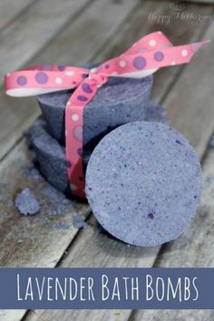 Lavender Bath Bombs | 12 DIY Bath Bombs | Bath Bombs Made Easy, see more at: http://diyready.com/diy-bath-bombs-bath-bombs-made-easy/