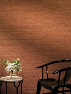 DIY Network highlights the latest innovations in wall coverings. (love this hemp wall covering in different color) Rustic Walls, Wooden Walls, Plastic Wall Covering, Temporary Wall Covering, Finishing Basement Walls, Fabric Covered Walls, Bamboo Wall, Diy Wall Decor, Home Decor