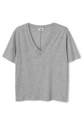 Weekday |  Basics | Last V-neck T-Shirt