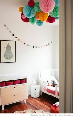 Beautiful 2 year old's bedroom via Bondville. #laylagrayce #bedroom