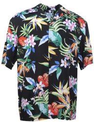 Passion Paradise Mens Hawaiian Aloha Shirt in Black Hawaii Shirts, Mens Hawaiian Shirts, Paradise Clothing, Aloha Shirt, Clothing Co, Shirt Outfit, Men Casual, Passion, Mens Tops
