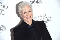 Actress Glenn Close attends the 'Crooked House' New York premiere at Metrograph on December 13 2017 in New York City